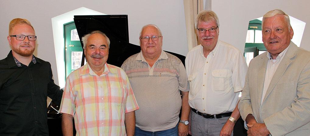 Vorstand Verein für Stadtgeschichte Gotha