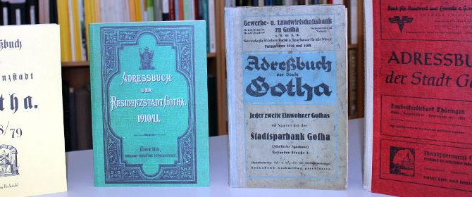 In alten Adressbüchern und Gotha-Literatur blättern – Neues Domizil des Stadtgeschichtsvereins wird Samstag mit Tag der offenen Tür vorgestellt