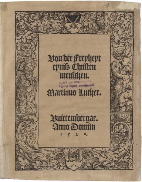 """Die Gothaer Druckschrift """"Von der Freiheit eines Christenmenschen"""" ist Unesco-Weltdokumentenerbe. (Foto: Matthias Wenzel)"""