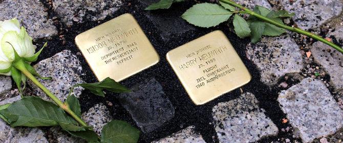 Stolperstein für Holocaust-Überlebenden – Verein für Stadtgeschichte sammelte zur Mitgliederversammlung