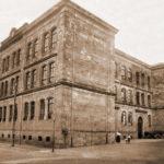 Die Lutherschule in Gotha um 1900