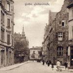 Die Lutherstraße in Gotha um 1900