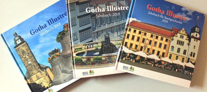 """Jahrbücher als ideales Weihnachtsgeschenk – Verein für Stadtgeschichte bietet alle drei Ausgaben von """"Gotha Illustre"""" an"""